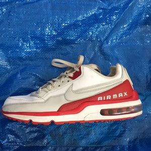 😎 Nike men's air max leather shoes sz 8 med 😎